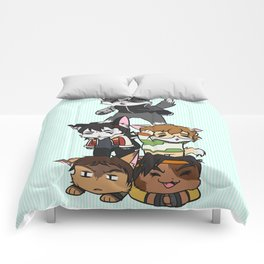 Forming Voltron: Are we doing this correctly? Comforters
