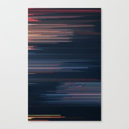 Glitched v.4 Canvas Print