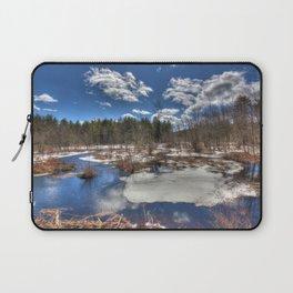 Early Spring Marsh Laptop Sleeve