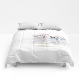 Snail Shells On Water Comforters