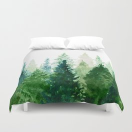 Pine Trees 2 Duvet Cover