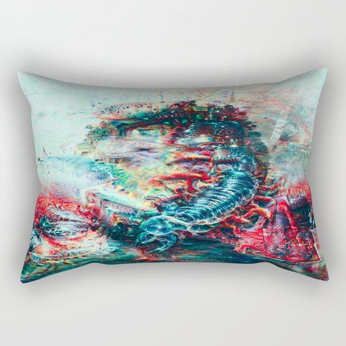 Sci-Fi Daymare Rectangular Pillow