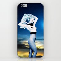 celestial iPhone & iPod Skins featuring Celestial by Danielle Tanimura