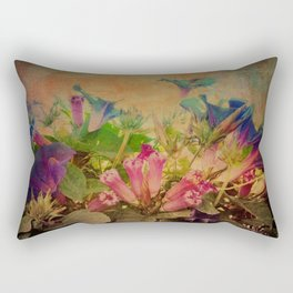 Flowers have music for those who will listen Rectangular Pillow