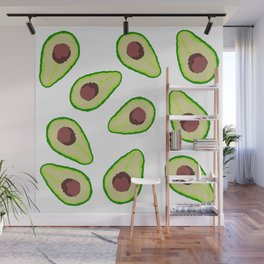 Avocados Wall Mural