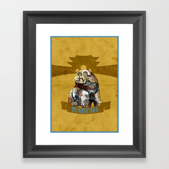 HAECHI! Framed Art Print