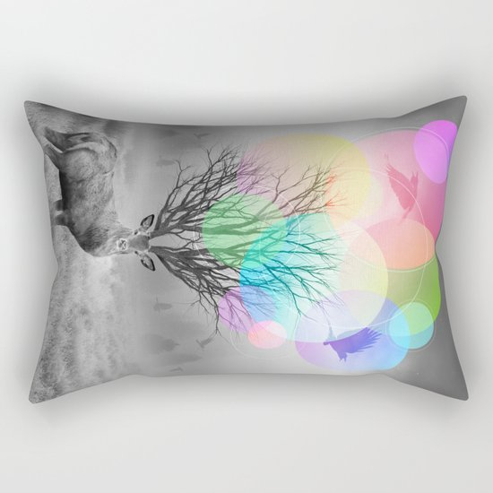 Calm Within the Chaos Rectangular Pillow