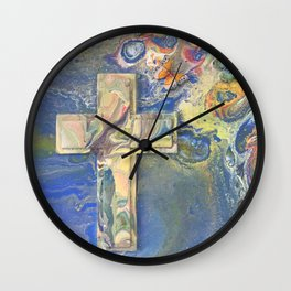 Heaven's Wings Wall Clock