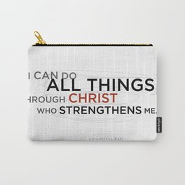 Philippians 4:13 II Carry-All Pouch