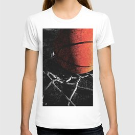 Basketball art cx vs 4 T-shirt