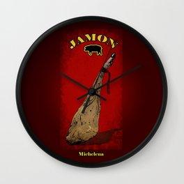 Jamon Wall Clock