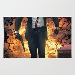 Hitman Poster Rug
