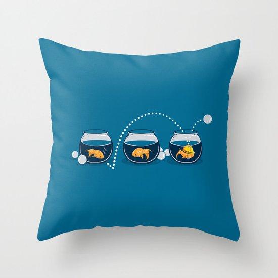 Prepared Fish Throw Pillow