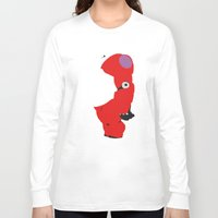 baymax Long Sleeve T-shirts featuring Baymax by Raquel Segal