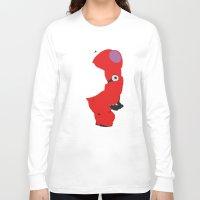 baymax Long Sleeve T-shirts featuring Baymax by Raquel Segal