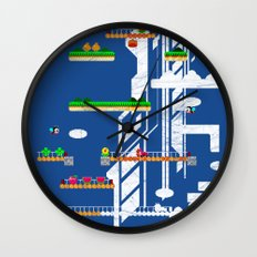 Rainbow Islands Wall Clock