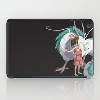 spirited away iPad Cases featuring Spirited Away by Sharna Myers