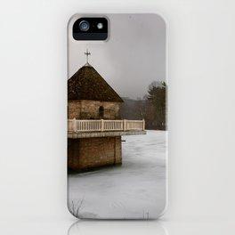 Snowy Sentinel iPhone Case