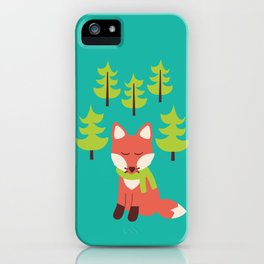 Forest Fox iPhone Case