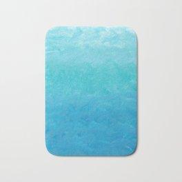 Water Water Color Bath Mat