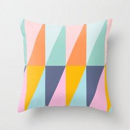 Scandi Style Geometry Throw Pillow