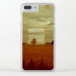 window seat II Clear iPhone Case
