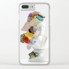 Inherit The Earth Clear iPhone Case