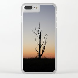 South Australia at dusk Clear iPhone Case