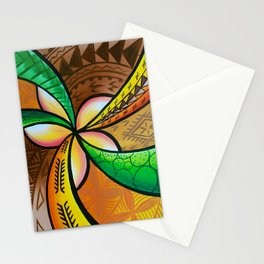 Abstract Pua Stationery Cards