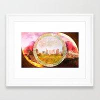 dallas Framed Art Prints featuring Dallas by Tim Perri