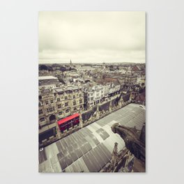 Oxford gargoyle Canvas Print