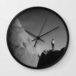 Joshua Tree Explorer IV Wall Clock