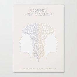 Florence + The Machine Canvas Print