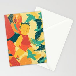 And A Little Girl Who Only Wished To Fly Stationery Cards