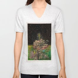 A Place In Space Unisex V-Neck