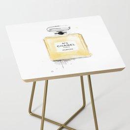 Perfume bottle fashion yellow Side Table