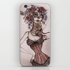 Lovely death iPhone & iPod Skin