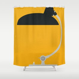 Bauhaus Table Lamp Kaiser Shower Curtain