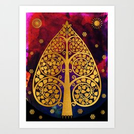 Bodhi Tree0501 Art Print