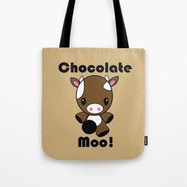 Chocolate Moo! Tote Bag
