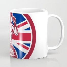 British Blacksmith Union Jack Flag Icon Coffee Mug