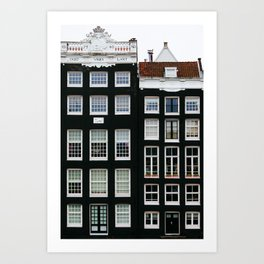 Scandi Style - Amsterdam Travel Photography Art Print