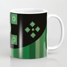 green shapes Mug