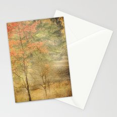 Fall red Stationery Cards