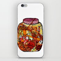 vegetables iPhone & iPod Skins featuring Preserved vegetables by ChiLi_biRó