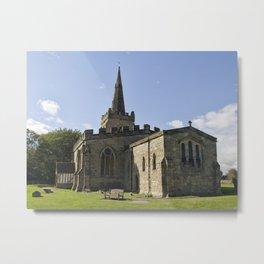 Weston on Trent church Metal Print