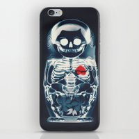 doll iPhone & iPod Skins featuring Nesting Doll X-Ray by Ali GULEC