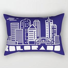 Mile High Rectangular Pillow
