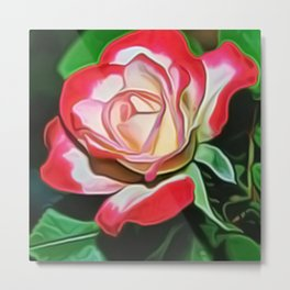 Flower Art - 1 Metal Print