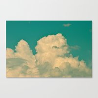 Canvas Prints featuring Reach For The Sky! by Alaskan Momma Bear